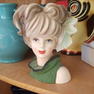 Other - Vintage Headvase